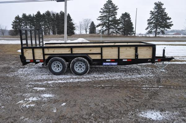 2020 Sure-Trac 7 x 16 Tube Top 10K 3 Board High Utility Trailer For Sale