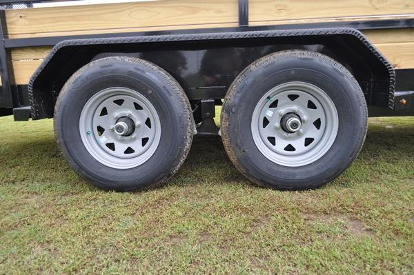 2020 Sure-Trac 7 x 18 H.D. 10K 3 Board High Utility Trailer For Sale
