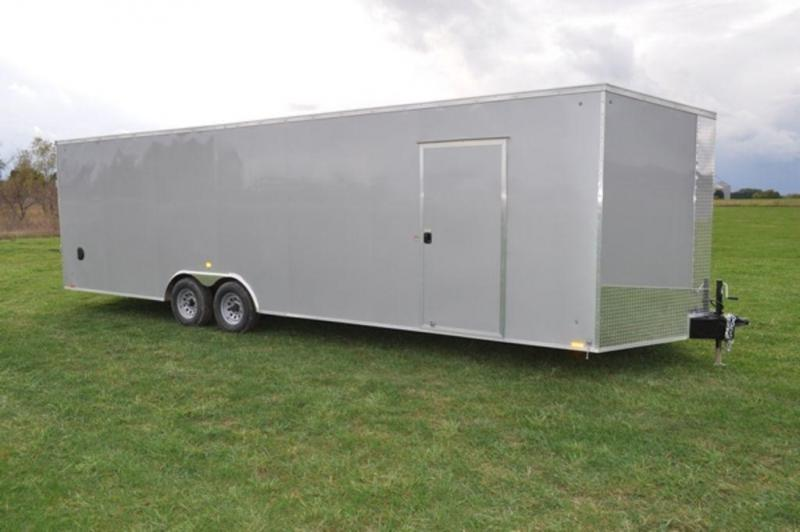 2018 Cargo Express 8.5 x 28 Enclosed Car Trailer For Sale