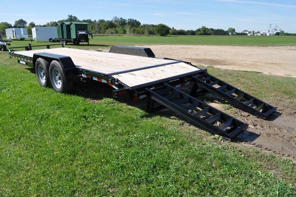 2020 Sure-Trac 7 x 22 H.D. 14K Equipment Trailer For Sale