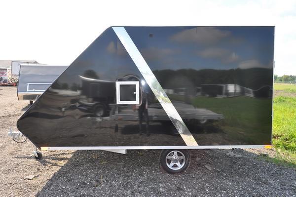 2020 Sport Haven 13' Aluminum Deluxe Hybrid for Sale Snowmobile Trailer