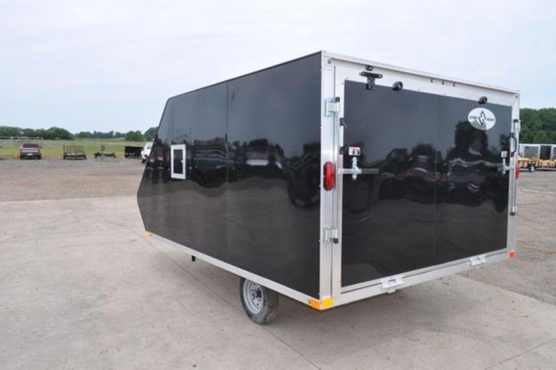 2019 All Aluminum 12 ft Elite Hybrid Snowmobile Trailer For Sale