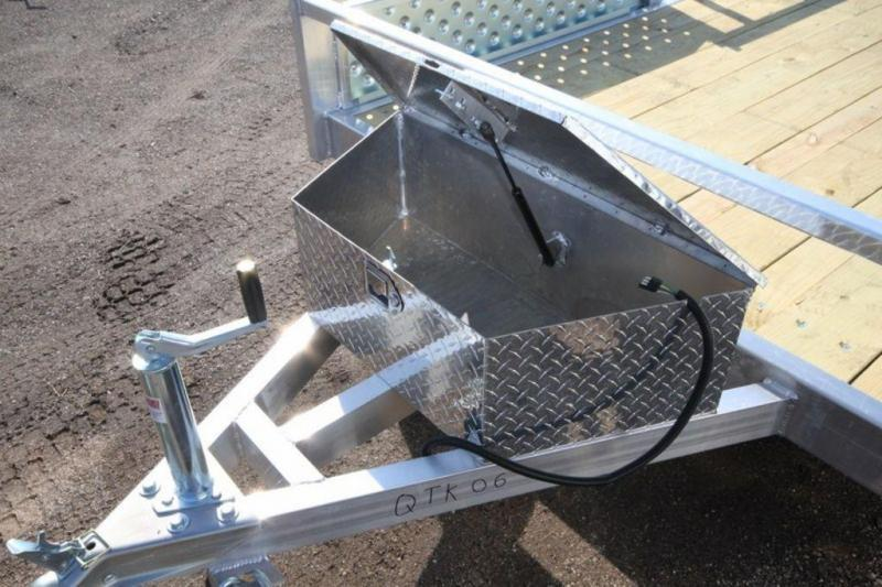 2020 All Aluminum 7 x 14 Single Axle ATV Trailer For Sale
