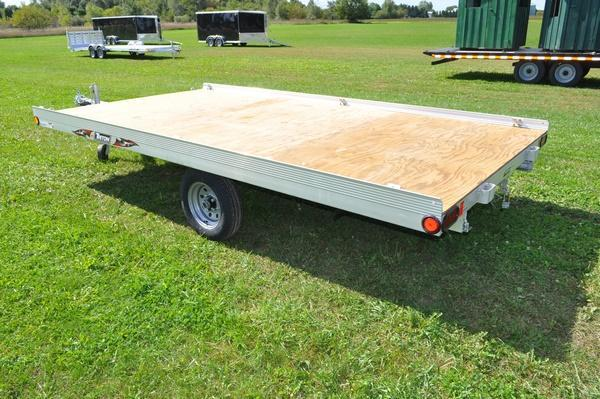 2020 Triton All Aluminum Side Load ATV128 Utility Trailer For Sale