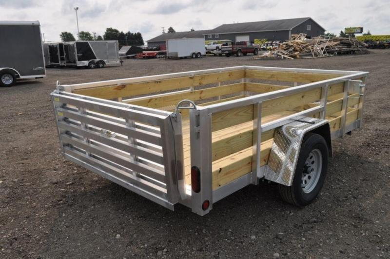 2020 All Aluminum Tube Top 6 x 10 3 Board High Utility Trailer For Sale