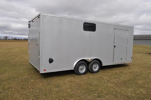 2021 Discovery Trailers 8.5 x 20 W/Windows Car / Racing Trailer For Sale