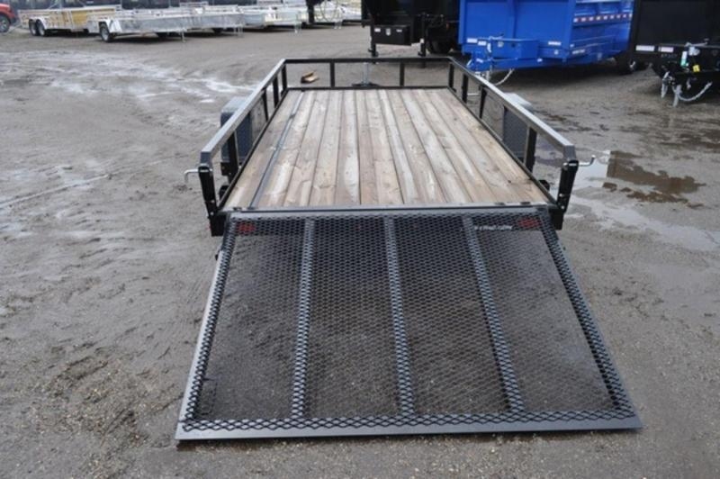 2020 Sure-Trac 6 x 12 Tube Top Utility Trailer For Sale