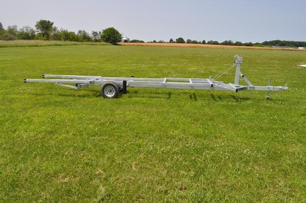 2020 Genesis 20' Crank Up Pontoon Trailer Watercraft Trailer For Sale
