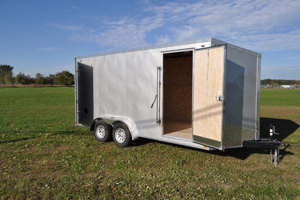 2020 Stealth Trailers 7 x 16 Rear Barn Doors Enclosed Cargo Trailer For Sale