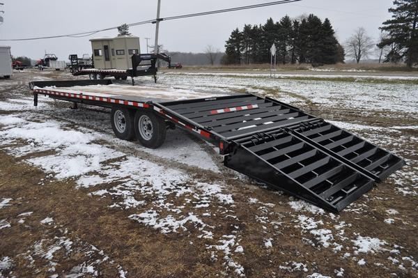 2020 Sure-Trac 8.5 x 20 +5 H.D. Deckover Equipment Trailer For Sale