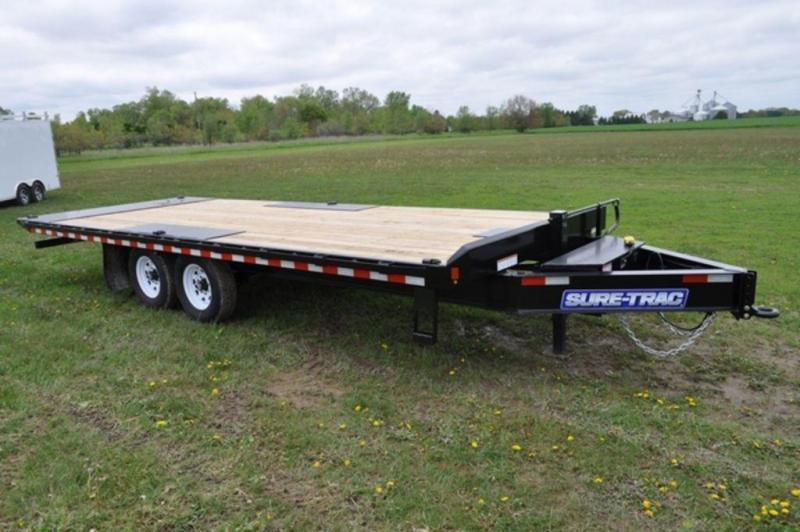 2019 Sure-Trac 101 x 22 Power Tilt Equipment Trailer For Sale