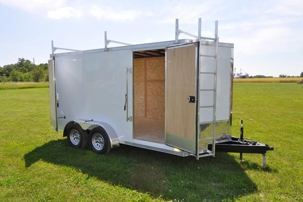 2020 Discovery Trailers 7 x 14 Construction Enclosed Cargo Trailer For Sale