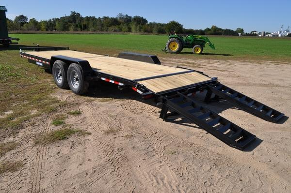 2020 Sure-Trac 7 x 24 H.D. 14K Equipment Trailer For Sale