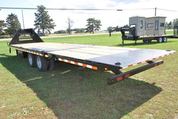 2020 Sure-Trac 101 x 20 10 Hydraulic Beavertail Gooseneck Equipment Trailer For Sale