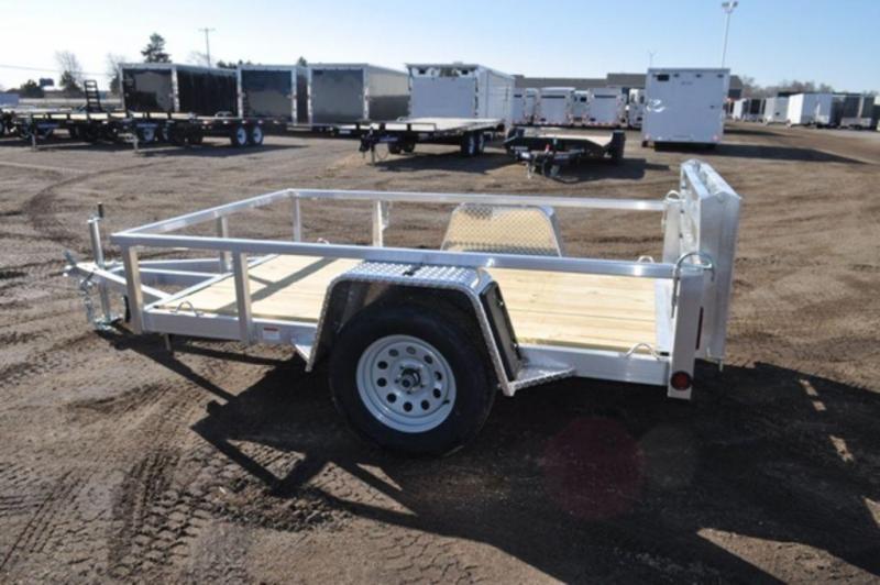 2020 All Aluminum 5 x 8 Perimeter Framed Utility Trailer For Sale