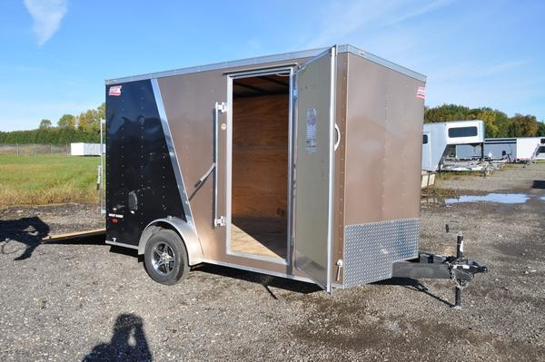 2017 American Hauler Industries 7 x 12 Enclosed 7FT Tall Enclosed Cargo Trailer For Sale