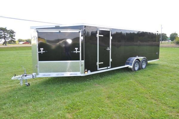 2020 Haul-it 7 x 29 All Aluminum Inline Snowmobile Trailer For Sale