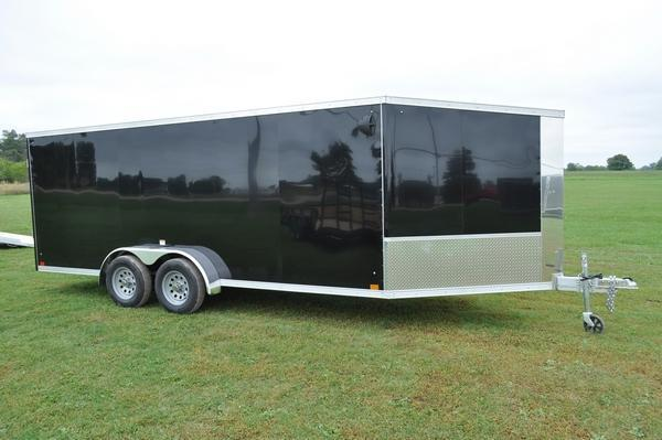 2020 Haul-it 7 x 23 All Aluminum Enclosed Snowmobile Trailer