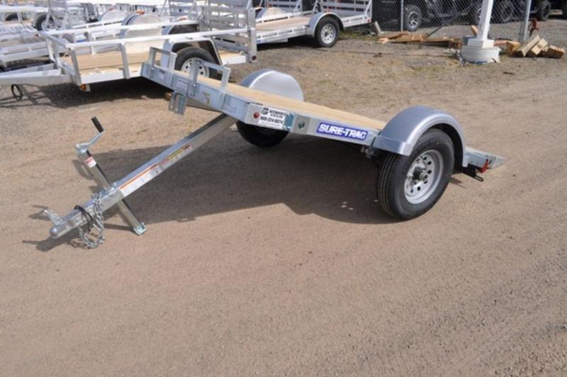 2018 Sure-Trac 5 x 8 Tilt Galvanized Utility Trailer For Sale