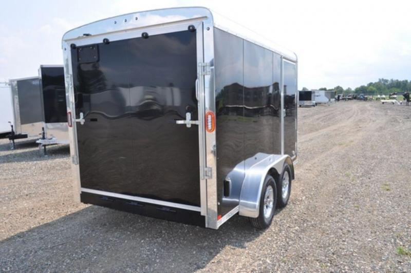 2019 Haul-It 7 x 12 TA Round Top Enclosed Cargo Trailer For Sale