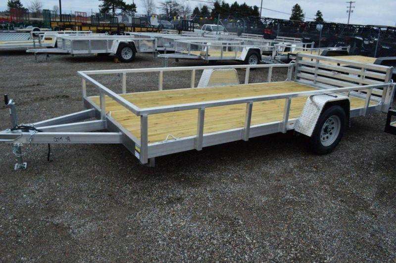 "2020 All Aluminum 80"" x 14' Single Axle Utility Trailer For Sale"
