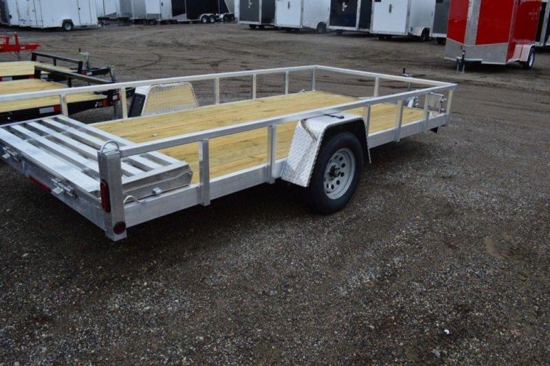 "2020 All Aluminum 80"" x 14' Single Axle Utility Trailer For Sale"