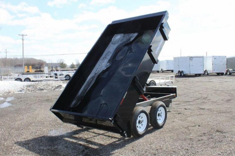 "2019 Sure-Trac 72"" x 10 Deck Over Dump Trailer"