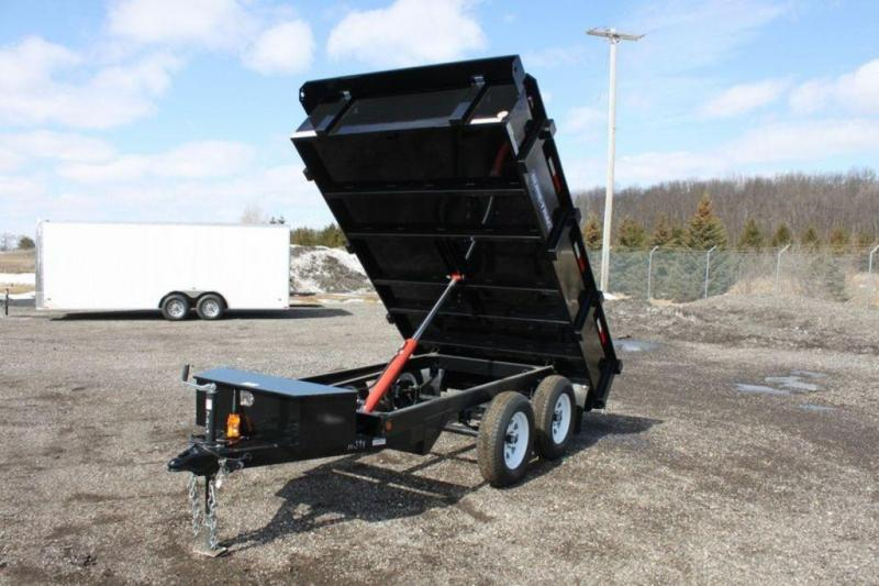 "2019 Sure-Trac 72"" x 10 Deck Over Dump Trailer"