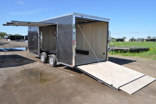 2020 Haul-it 8.5 x 20 Enclosed Car / Racing Trailer W/Full Escape Door For Sale
