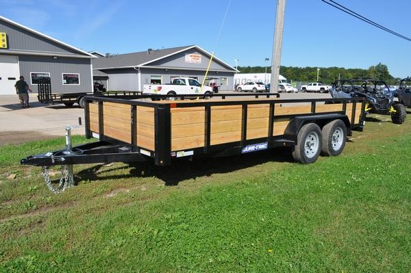 2020 Sure-Trac 7 x 16 Tube Top 3 Board High Utility Trailer For Sale
