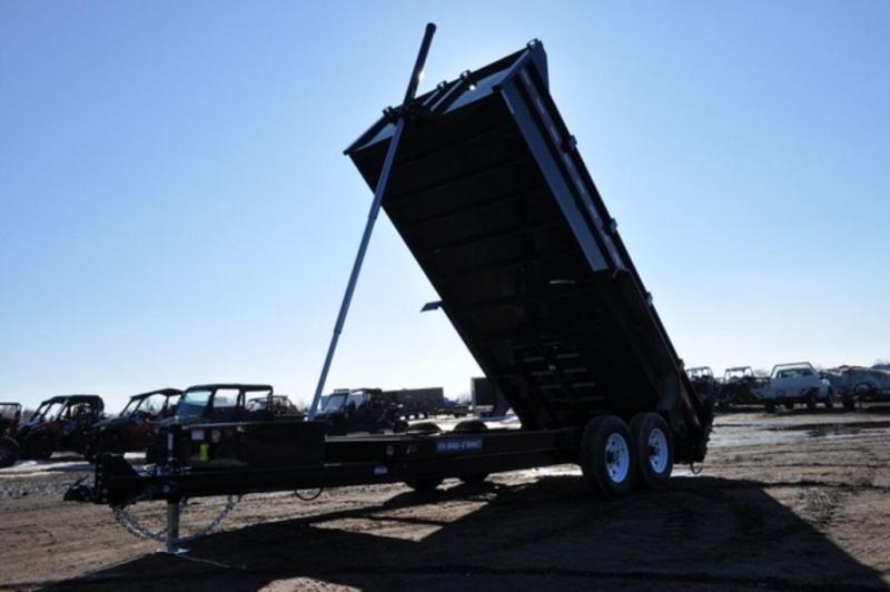 """2019 Sure-Trac 82"""" x 16' Telescopic Dump Trailer For Sale"""
