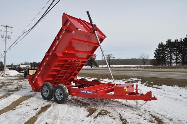 2020 Sure-Trac 82 IN X 12 LProfile 14K Telescopic Dump Trailer for Sale
