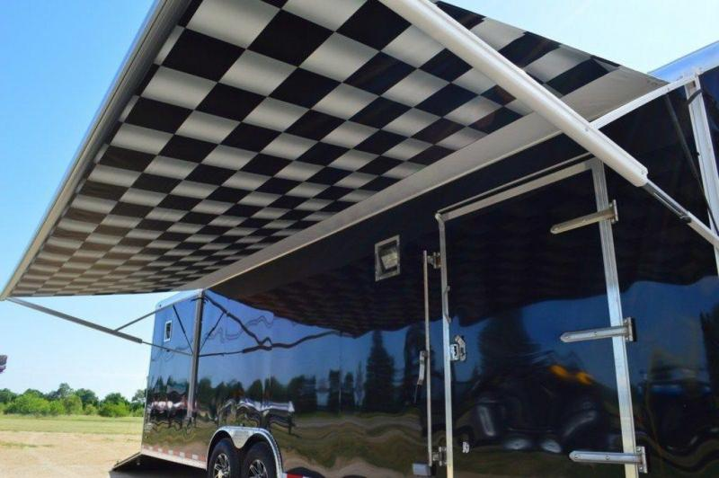 2017 Custom Stealth Enclosed 8.5 x 30 Loaded Car Trailer