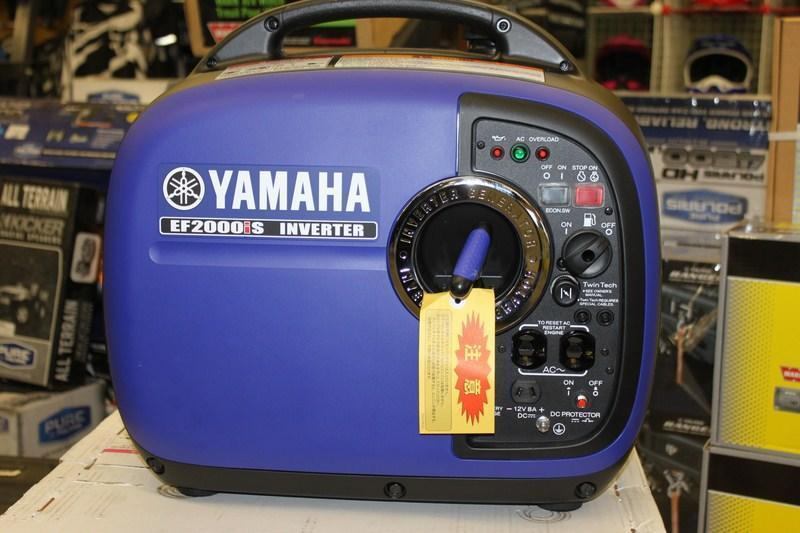 2018 Yamaha 2000IS Generator