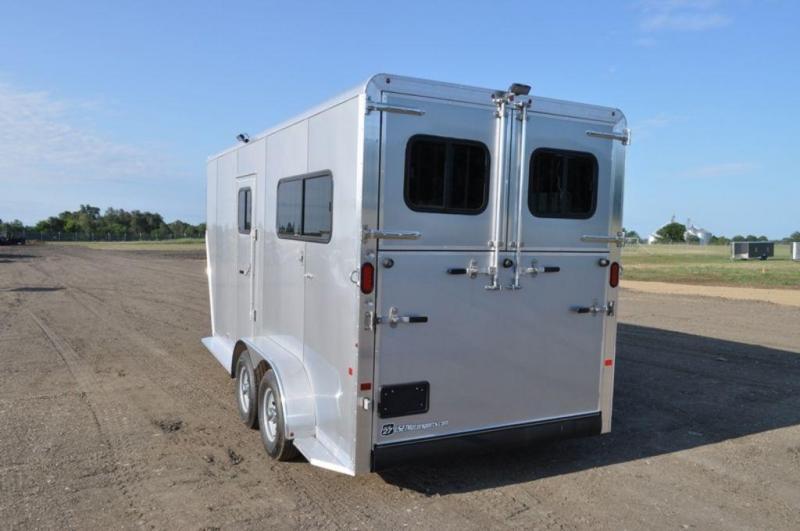 2017 Frontier 2 Horse Ambassador All Aluminum Gooseneck Trailer For Sale