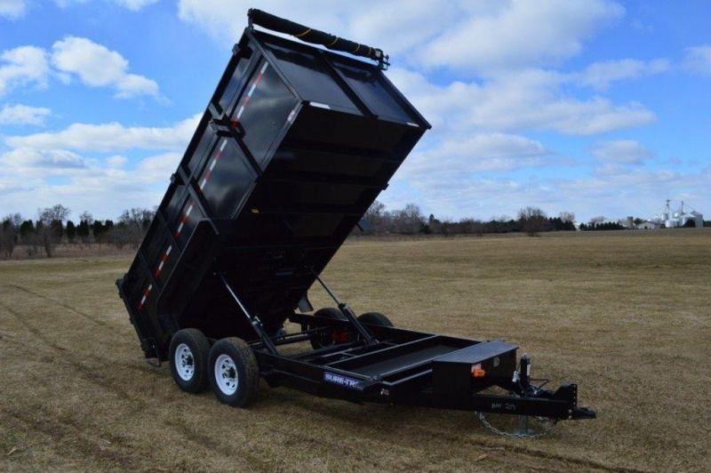 2019 Sure-Trac 82 x 14 Low Pro Dump Trailer w/ 4ft High Sides For Sale