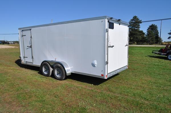 2020 Haul-it 7 x 23 All Aluminum Inline Snowmobile Trailer for Sale
