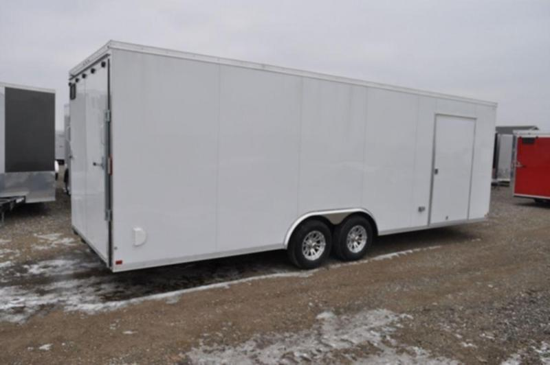 2019 Haul-It 8.5 x 24 Loaded Enclosed Car Trailer For Sale