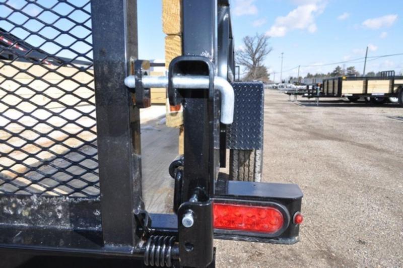 2020 Sure-Trac 6 x 12 3 Board High Utility Trailer For Sale