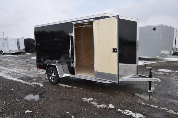 2020 Haul-it 6 x 12 All Aluminum Enclosed Cargo Trailer For Sale