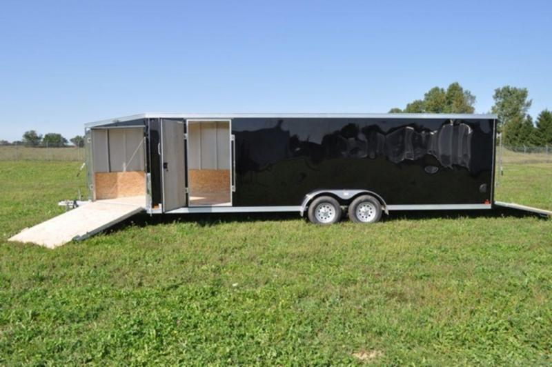 2019 Haul-It All Aluminum 7 x 29 Inline Snowmobile Trailer For Sale In Michigan!!