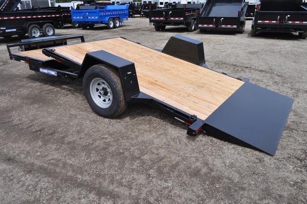 "2020 Sure-Trac 78"" x 12'+4 Tilt Trailer Equipment Trailer"
