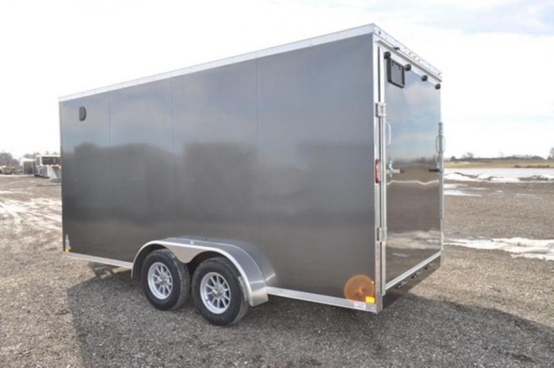 2019 Haul-It 7 x 16 Enclosed Cargo Trailer w/ 7 ft Interior For Sale