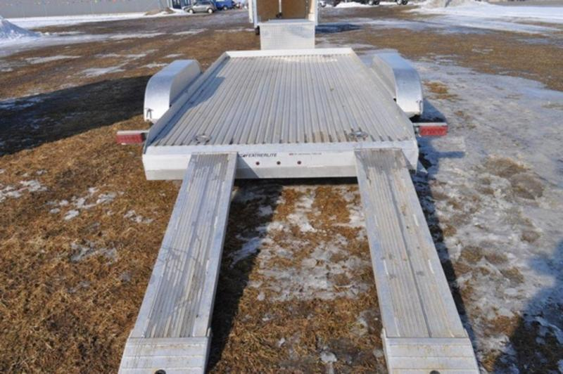 2017 Featherlite All Aluminum 7 x 14 Open Car Trailer For Sale