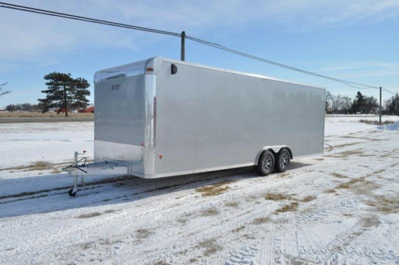 2019 All Aluminum 8.5 x 24 Enclosed 10K Car Trailer For Sale