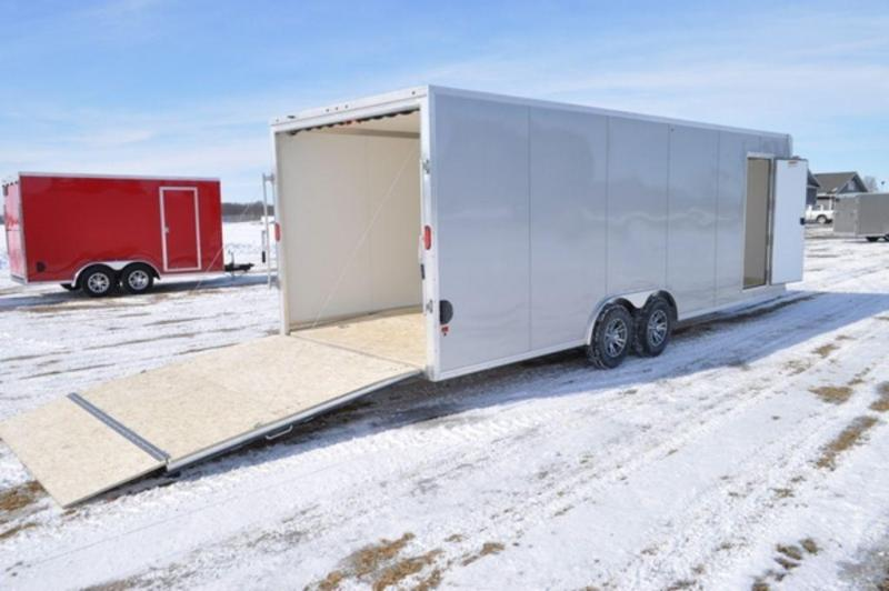 2019 All Aluminum 8.5 x 24 Enclosed 10K Car Trailer For Sale