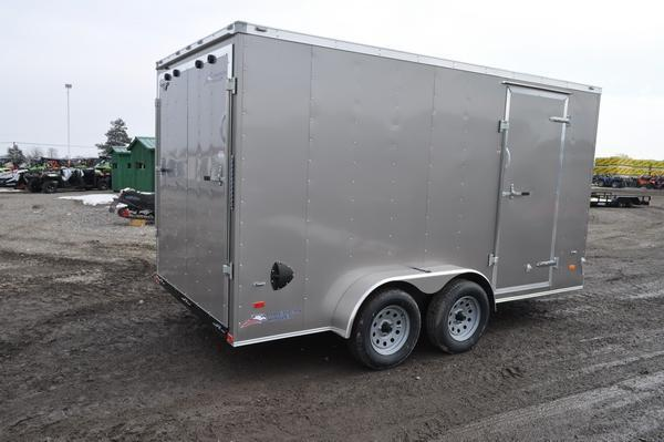 2020 American Hauler 7 x 14 Wedge Nose Enclosed Cargo Trailer For Sale