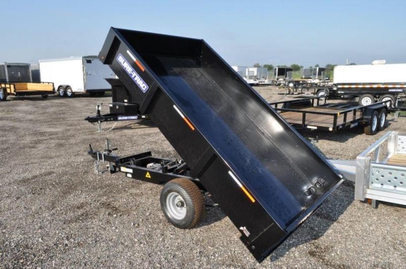 2019 Sure-Trac 4.5 x 8 Power Homeowner Dump Trailer