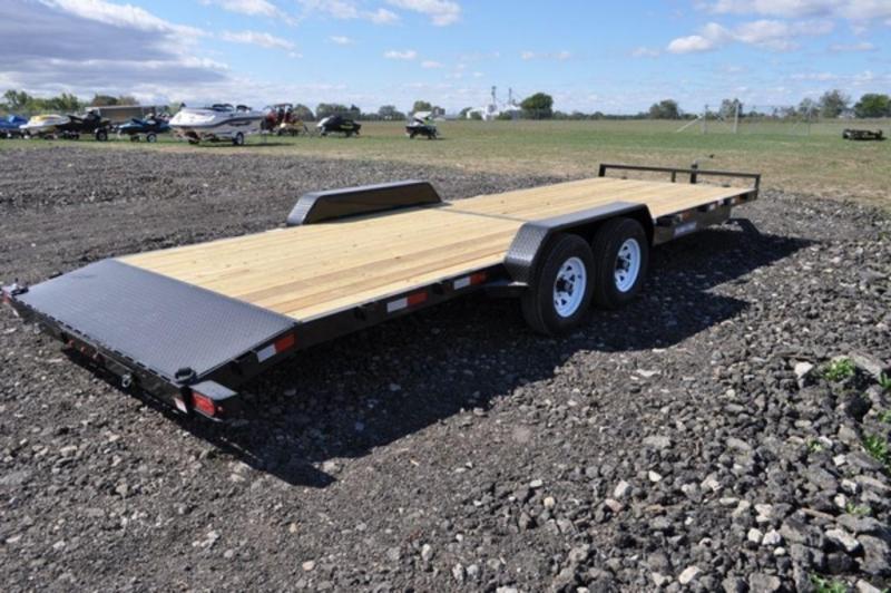2020 Sure-Trac 7 x 24 Open 10K Car Trailer For Sale
