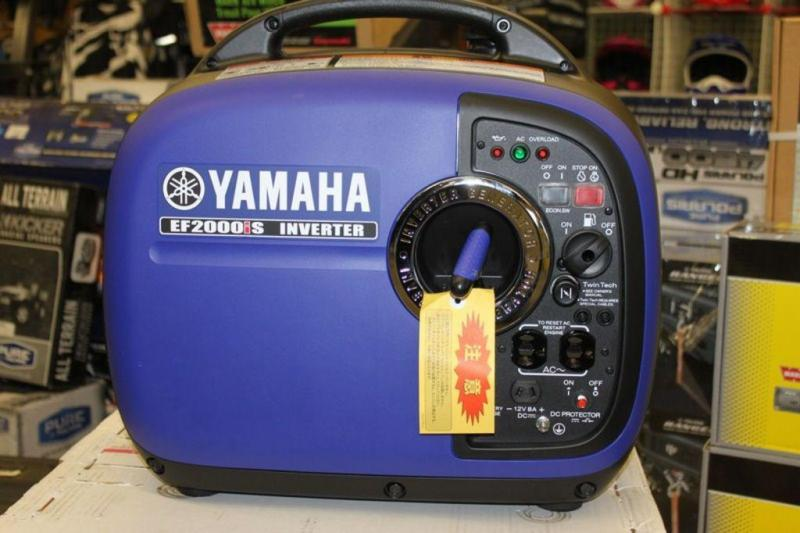 2018 Yamaha Whisper Quiet Generators